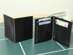 折叠钱包模型