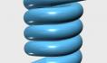 123D design建模教程:制作弹簧模型