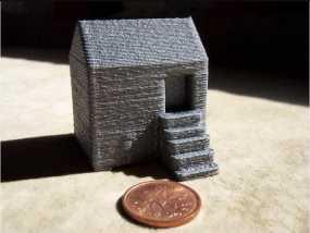 迷你小房子模型
