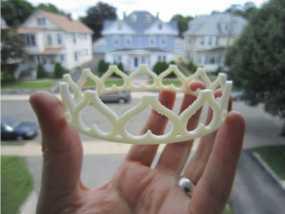 公主冠3d模型