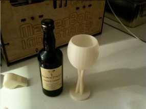红酒杯3d模型