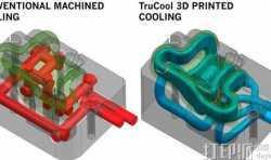 用3D打印技术制造随形冷却模具的优势