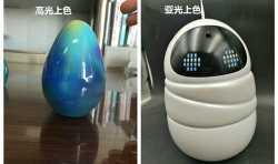 3D打印模型后期喷漆亚光和亮光的区别