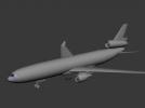 一架天上的飞机