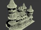 欧式建筑物模型