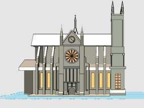 中世纪教廷模型