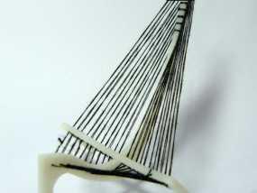 竖琴3d模型