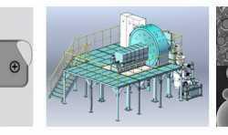 赛隆金属自主研发的工业级等离子旋转电极雾化制粉设备成功验收