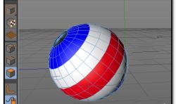 C4D中如何给球体添加多种颜色?