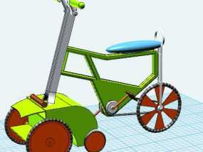环保小车自行车