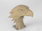鹰头3d模型