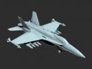 战斗机模型一架