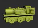 火车前进模型