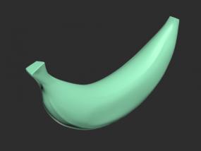 一个香蕉模型