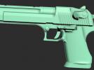 一把手枪模型