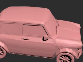 老爷车模型一个