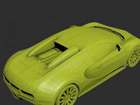 小黄汽车模型