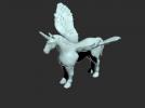 独角兽模型一只