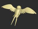小燕子一只模型