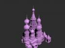 建筑城堡模型