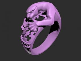 豹子戒指模型
