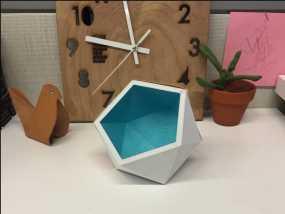 多面几何体花盆