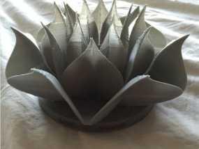 莲花3d模型