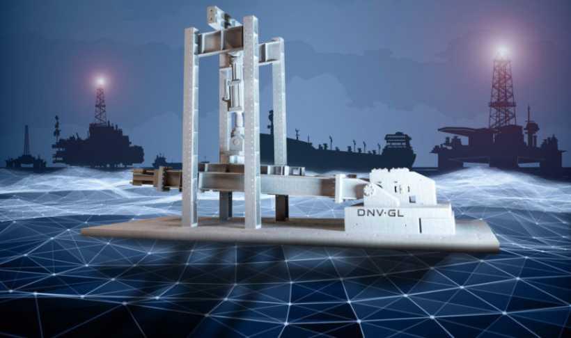 DNV GL公司发布首个在海事和石油天然气行业使用3D打印的分类指南