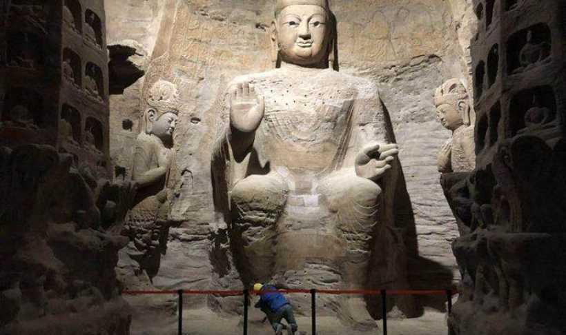 浙江大学与山西云冈石窟研究院联合攻关,3D打印复制云冈最大洞窟