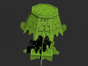 灯具摆件模型