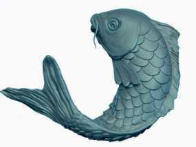 3d鲤鱼模型