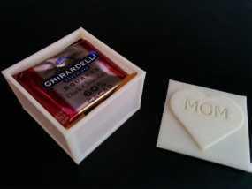 糖果箱子模型