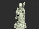 寿星老者模型