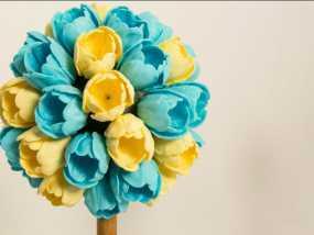 漂亮鲜花模型