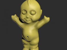 小孩模型一个