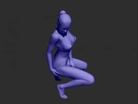 女模特模型一个