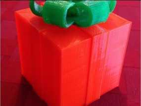 圣诞礼盒模型