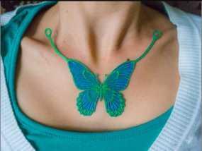 蝴蝶造型项链