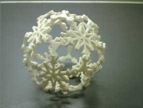 唯美雪球模型