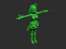 美少女战士模型