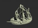 轮船航海模型