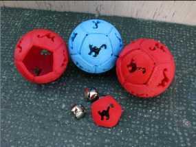 猫咪的玩具球