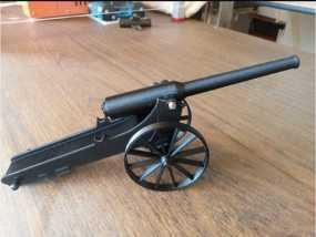远程大炮模型