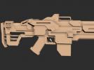 机关枪模型一个