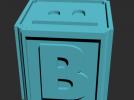 B_积木玩具模型