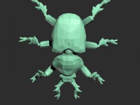 甲壳昆虫模型