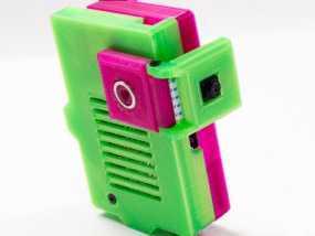 相机包装模型