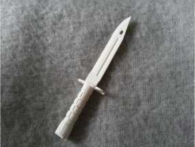 军刀3d模型