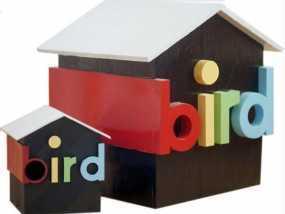 小鸟的房子模型