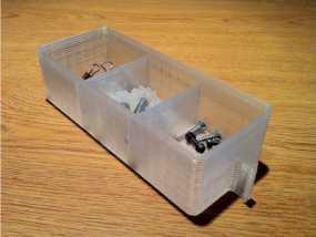零件小抽屉模型